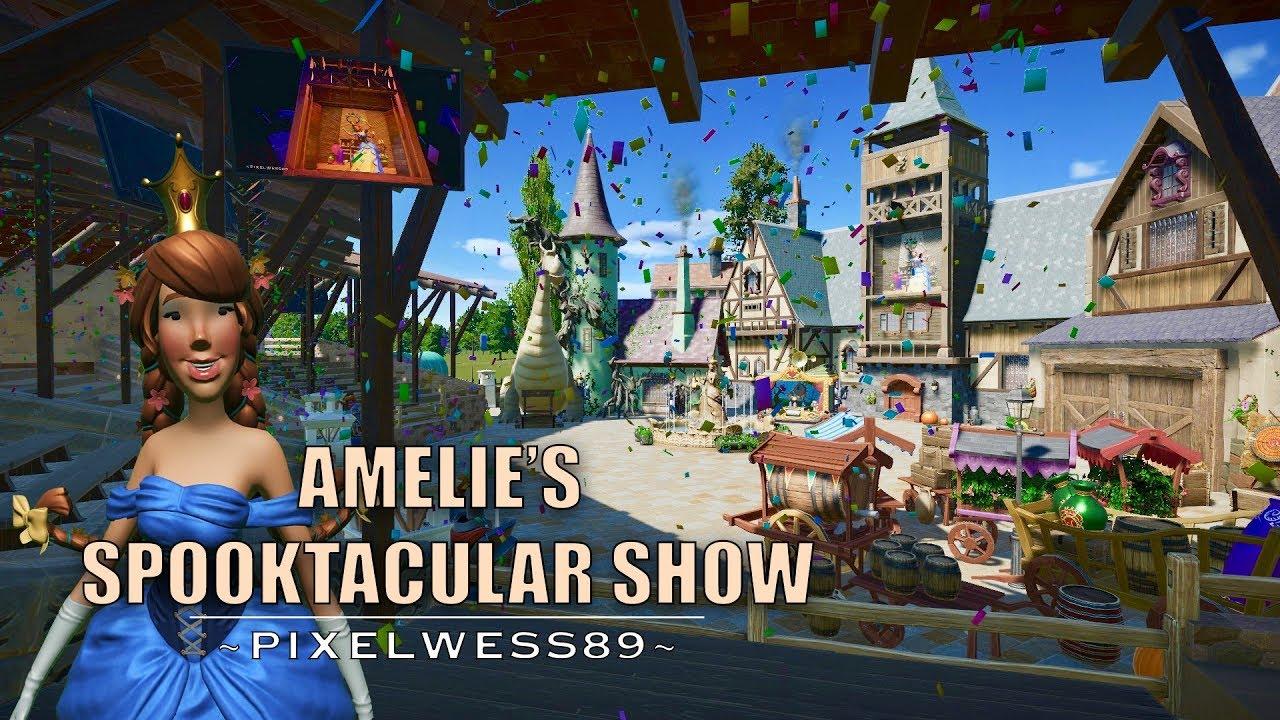 Amelie's spooktacular show