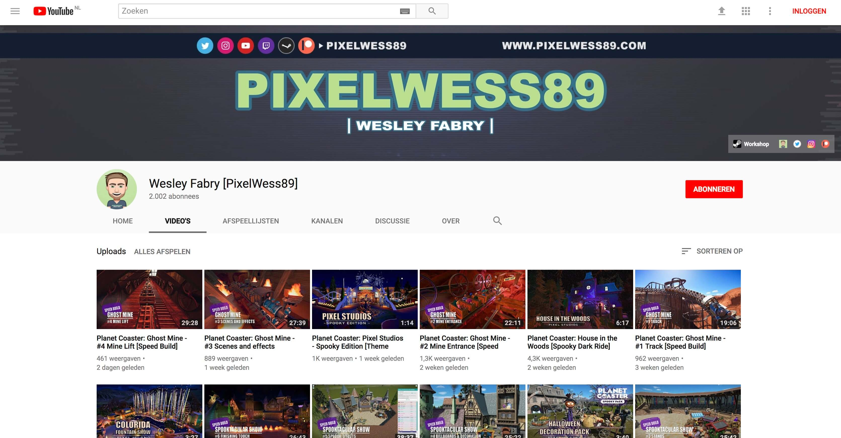 youtube pixelwess89