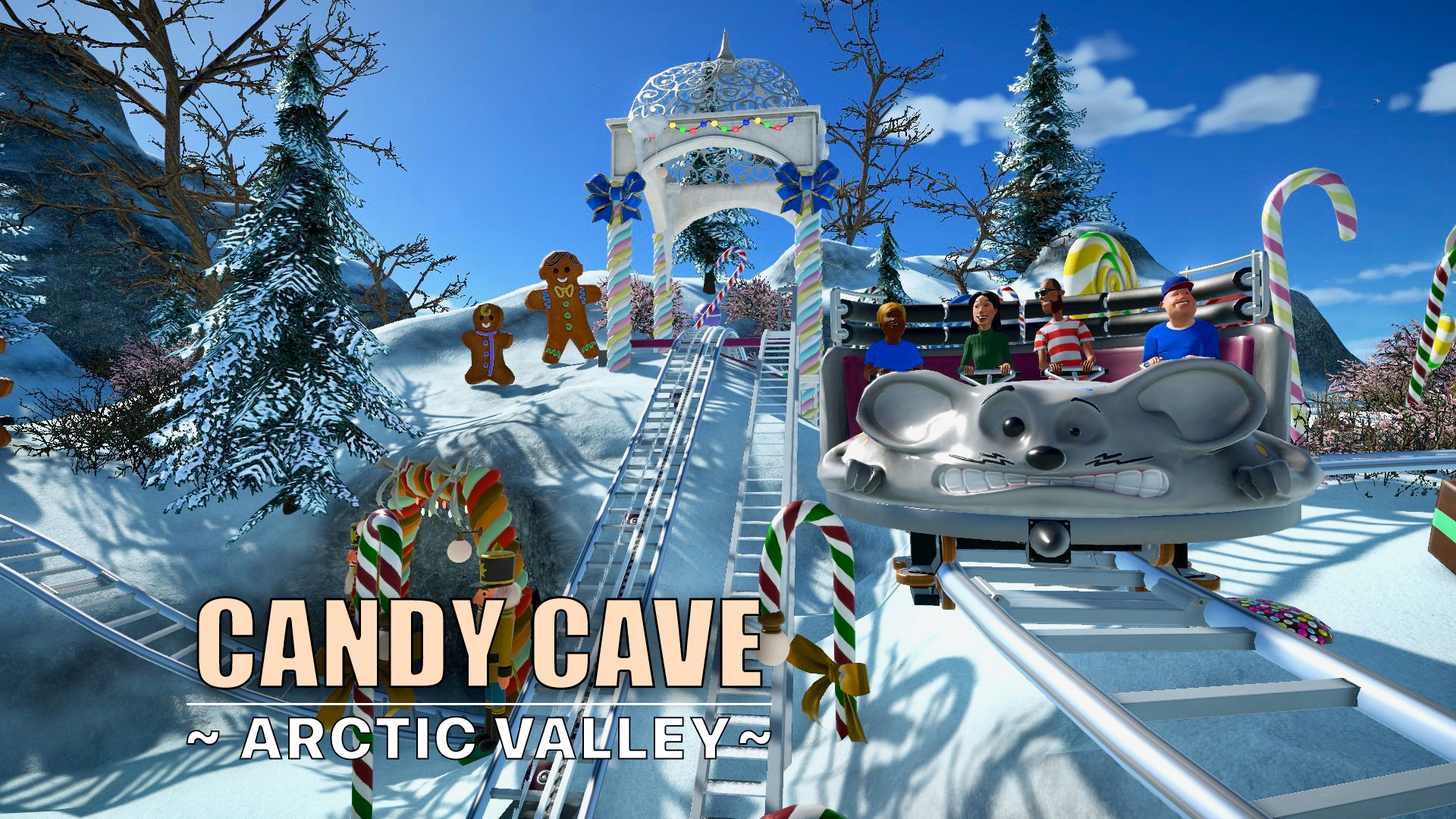 Candy Cave coaster