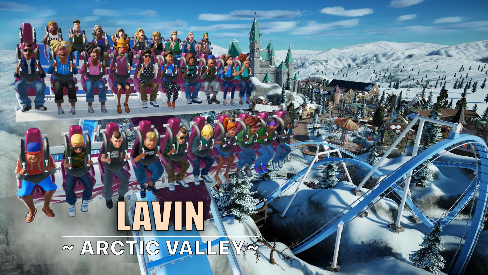 Lavin dive coaster