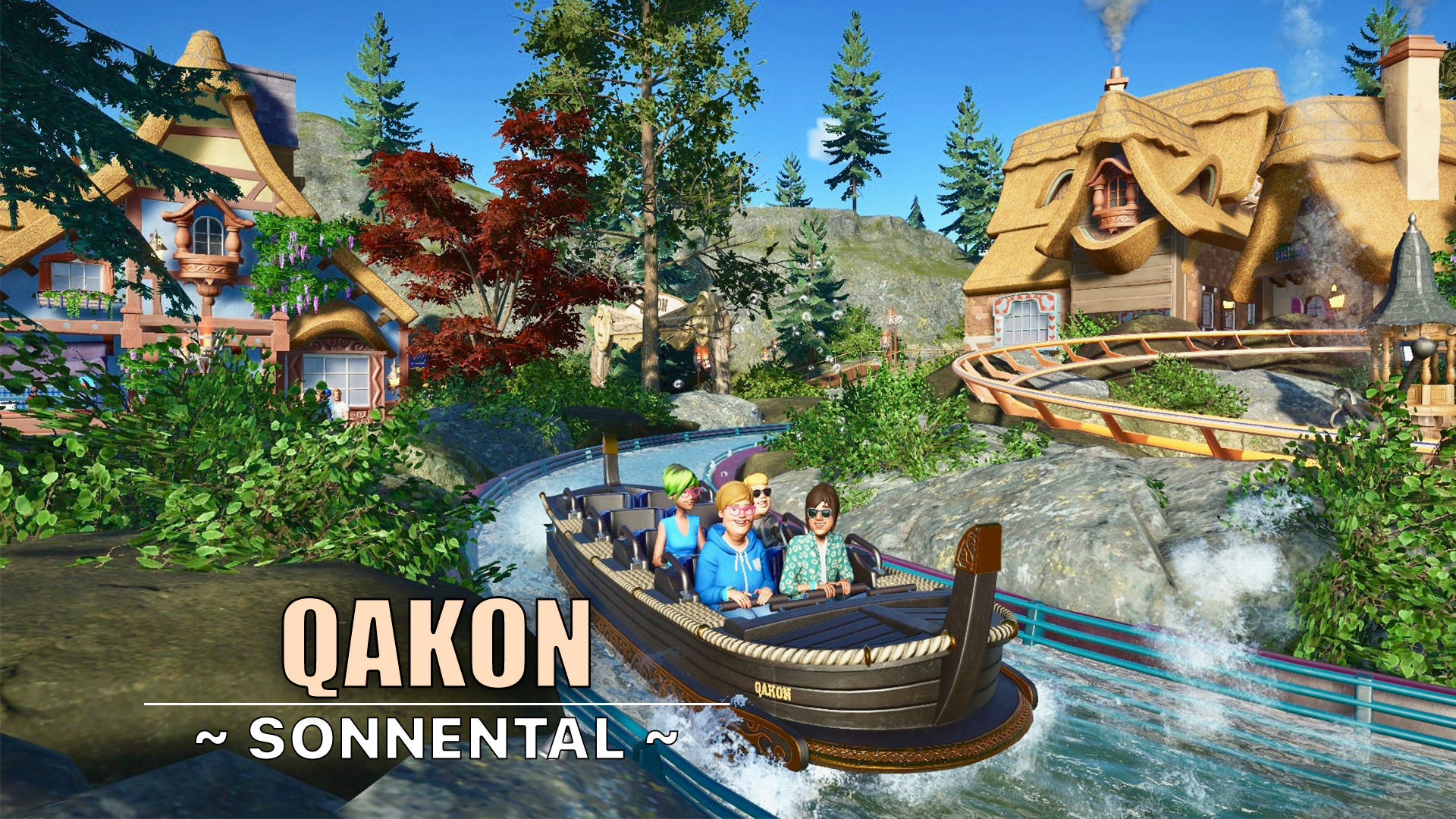 Qakon water coaster