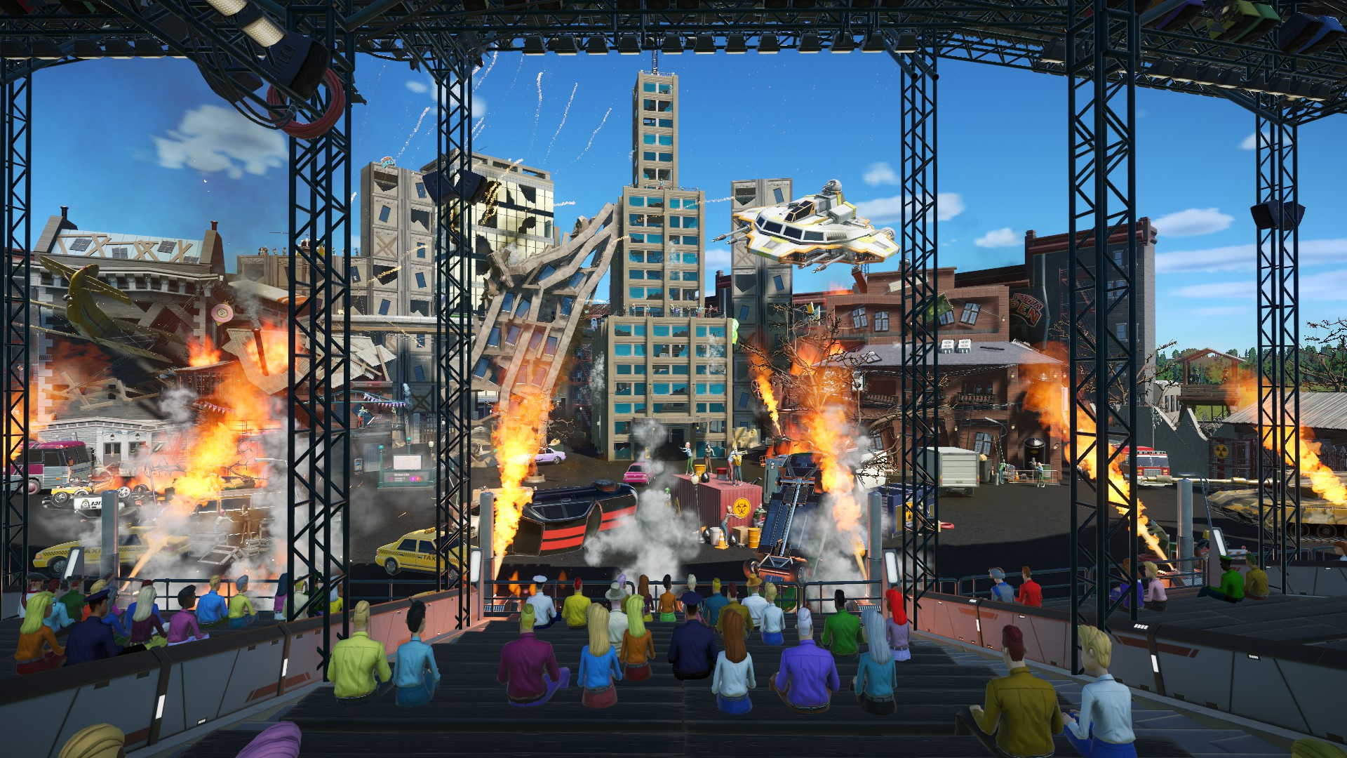 Chaotic – An Apocalypse Stunt Show 🔥🤖