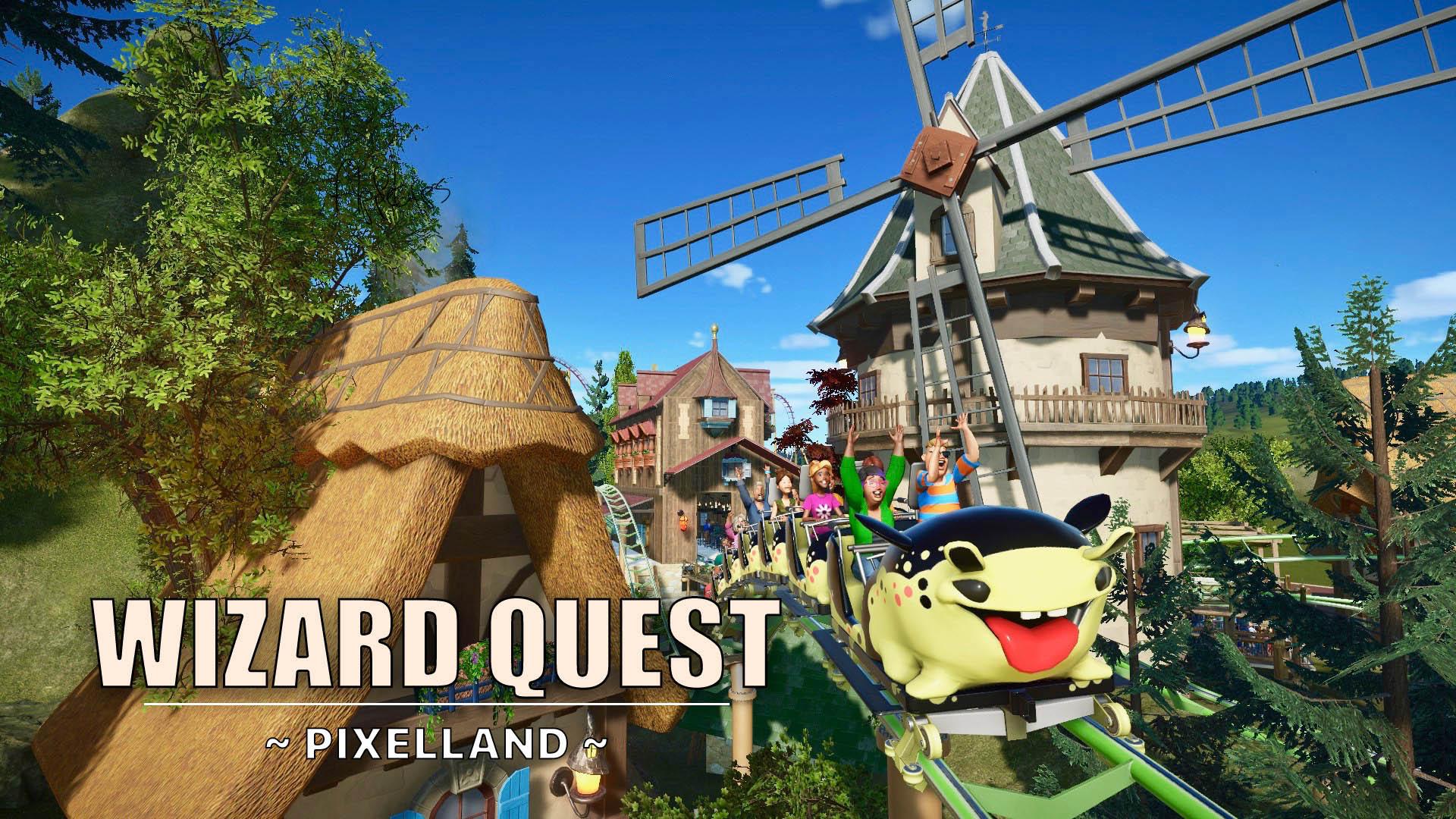New video: Wizard Quest 🎢🧙♀️🐞 [Junior Coaster]