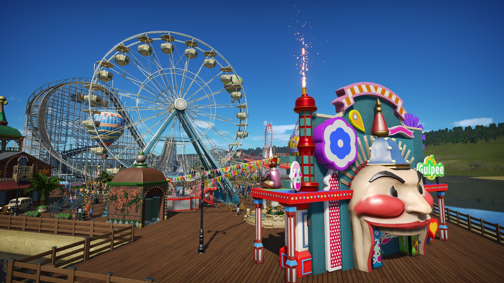 Pixel Pier 🎠🎡 [Sandbox Park]