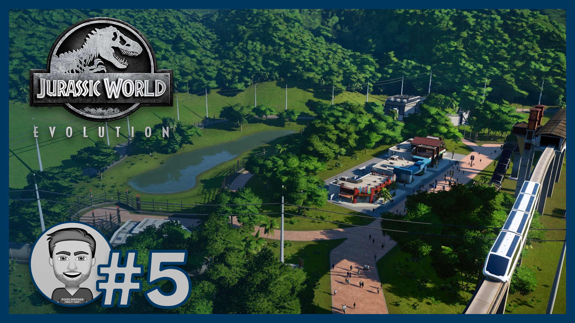 JWE #5: Monorail to a natural enclosure 🚅🦖🌴