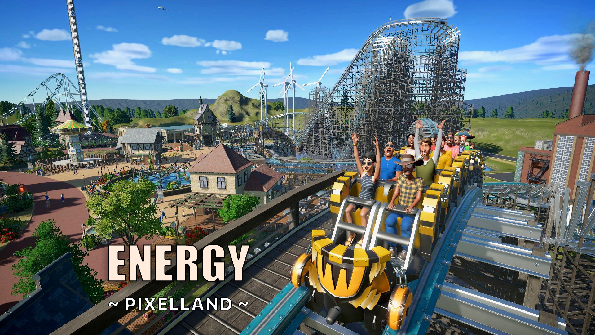 Energy hybrid coaster by PixelWess89