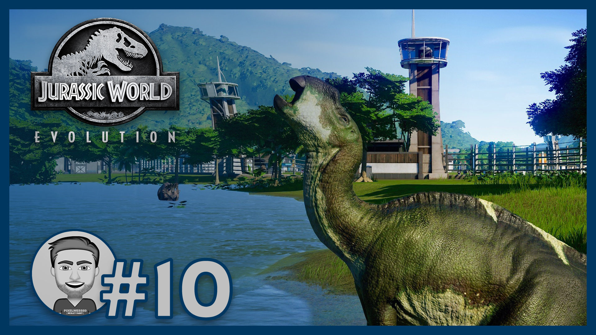 JWE #10: Preparing the park for Dr. Wu 🦕