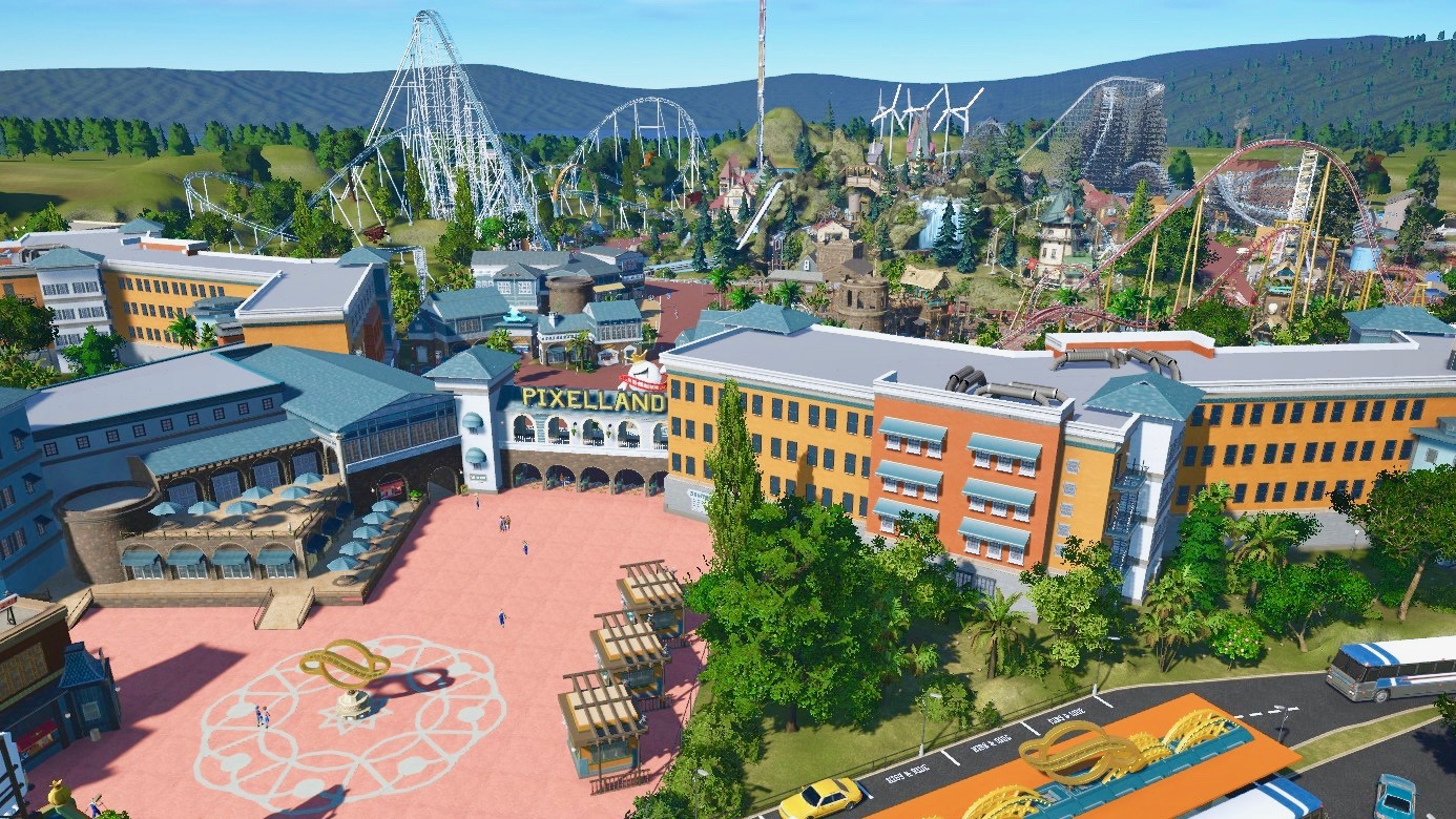 Pixelland now available! 🎢🎡🎠