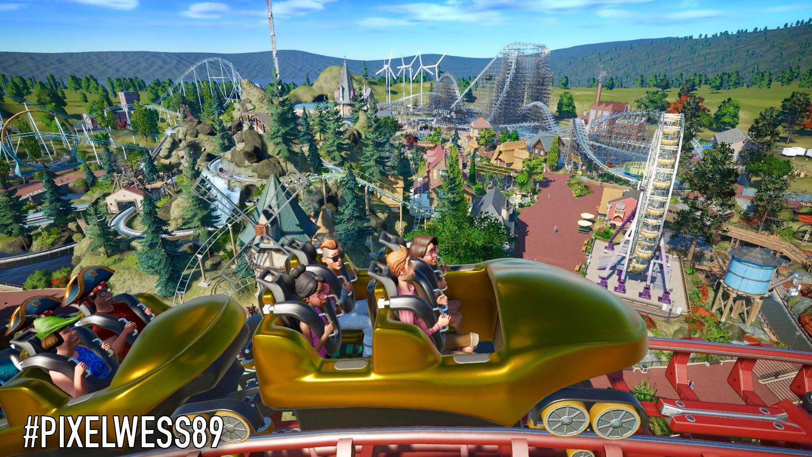 Pixelland delayed by Planet Coaster bug 😞🎡