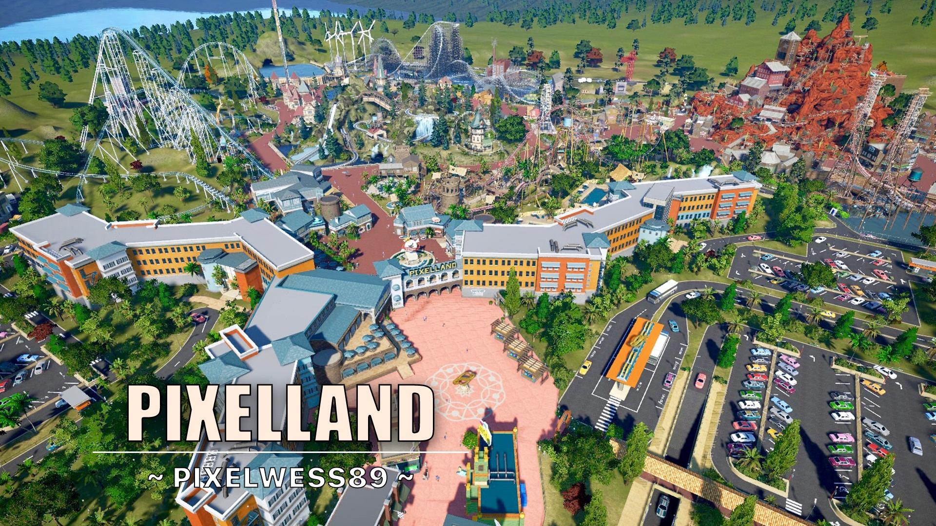 New video: Pixelland 🎢🎡🎠 [mega theme park]
