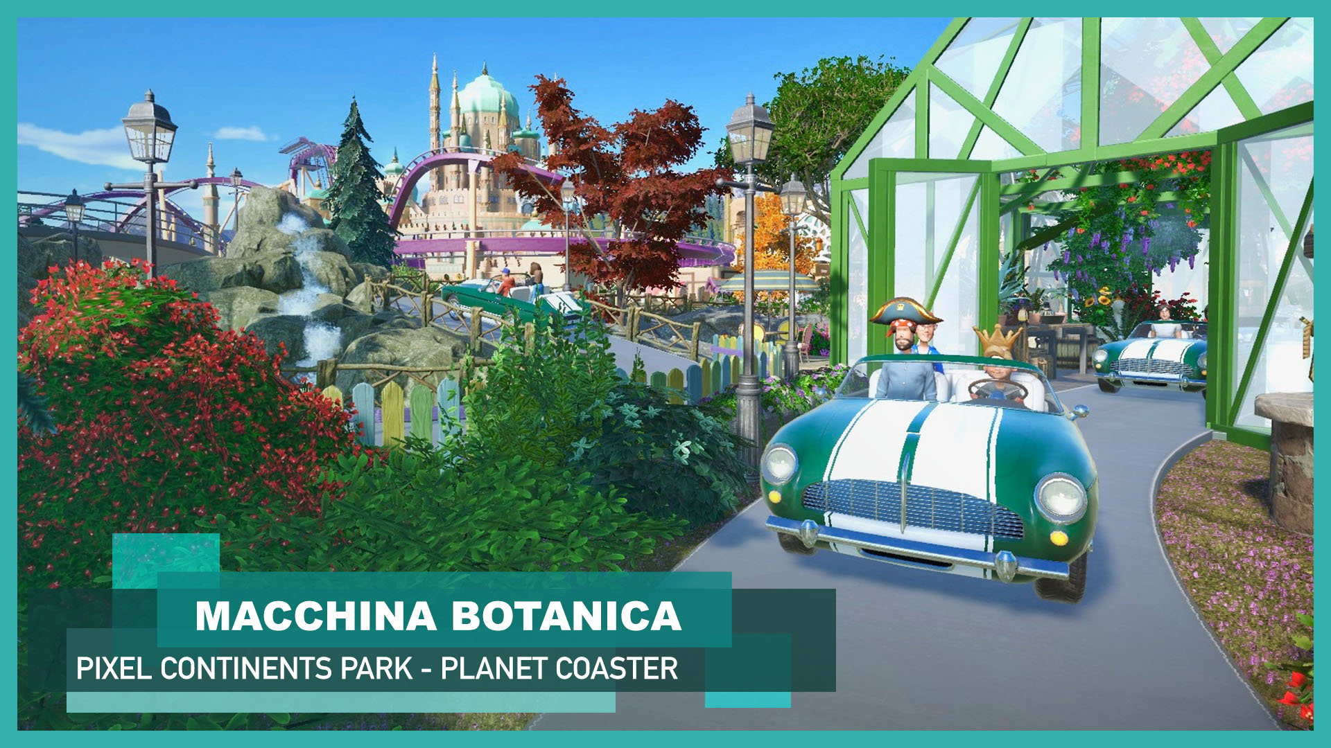 New video: Macchina Botanica 🚘🌳 [Classic Car Ride]