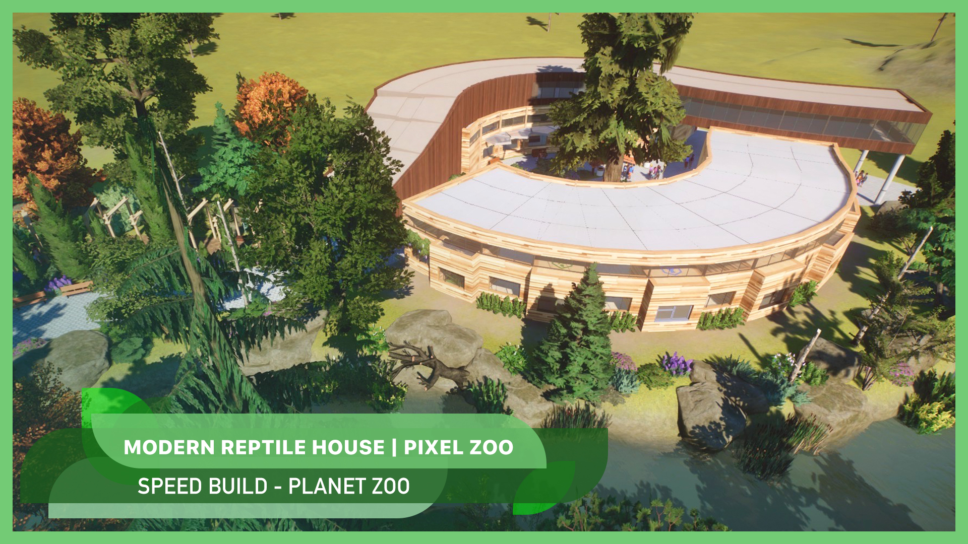 New video: Modern reptile house 🦎🐍