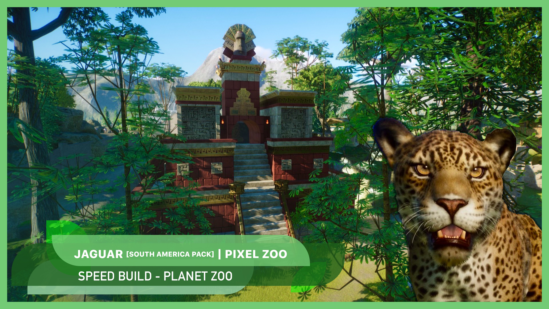 New video: Jaguar and Aztec temple 🐆🗿 | South America Pack