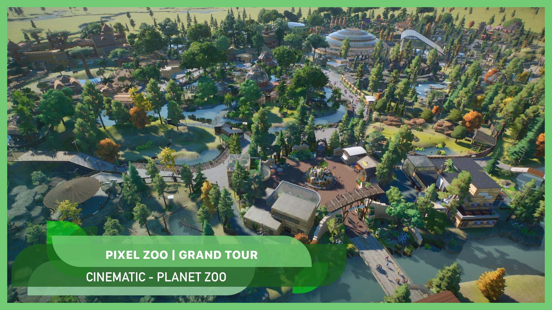 Pixel Zoo finished! ??? Grand tour video + download